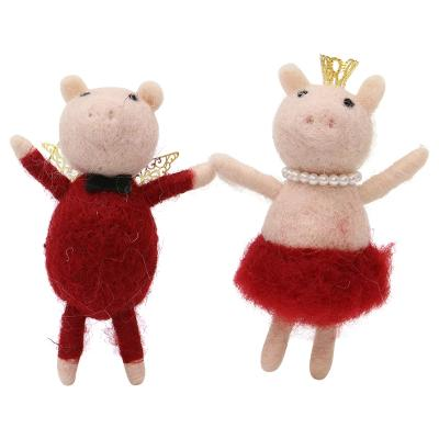Woolly Party Pigs Christmas Tree