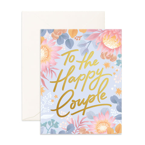 Fox & Fallow card - To the happy couple