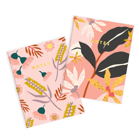Fox & Fallow - Orchid Notebook set