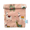 Craft Me Up Llama Oil Cloth Lunch Bag