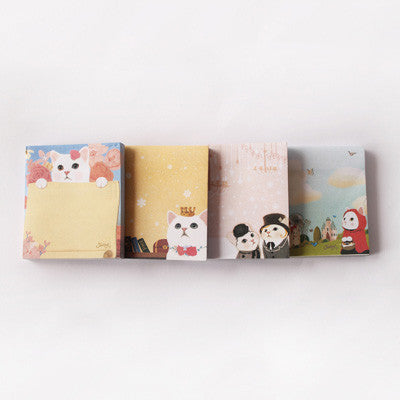 Pony Lane Miss Kitty Post It Notepad