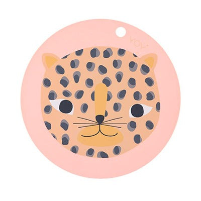 OYOY Silicone Placemat - Snow Leopard