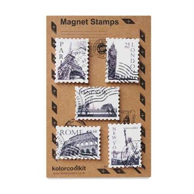 Pony Lane Magnetic Cityscape Stamps