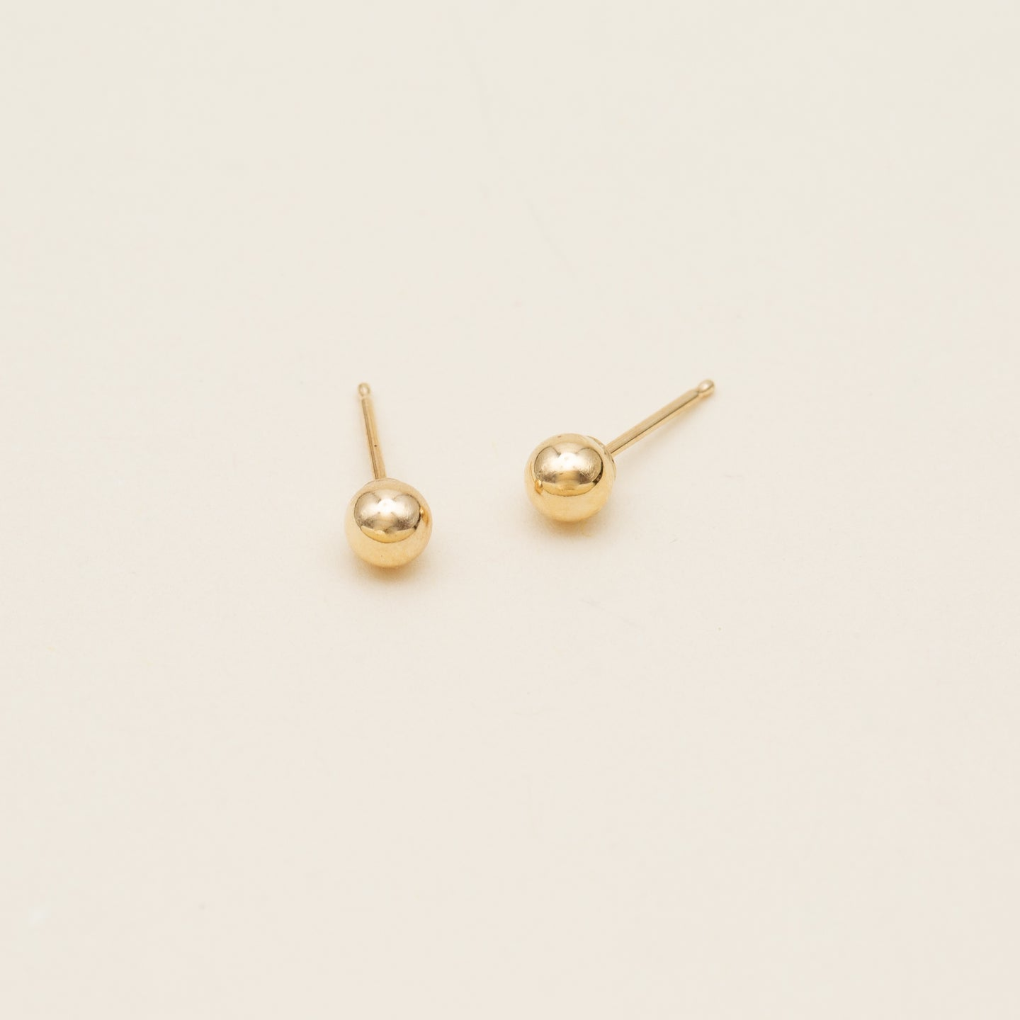 14k Classic Ball Earrings