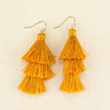 Load image into Gallery viewer, TULUM TASSEL EARRINGS