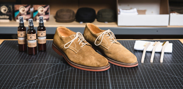 How To Clean Suede Shoes With Otter Wax Suede Cleaner
