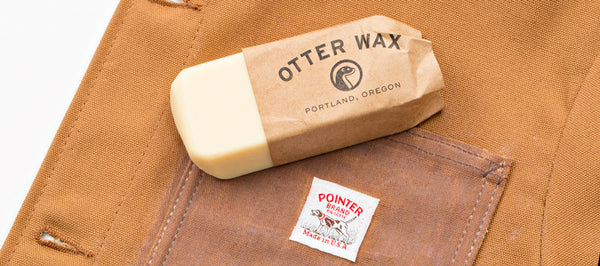 how to otter wax pointer brand chore coat