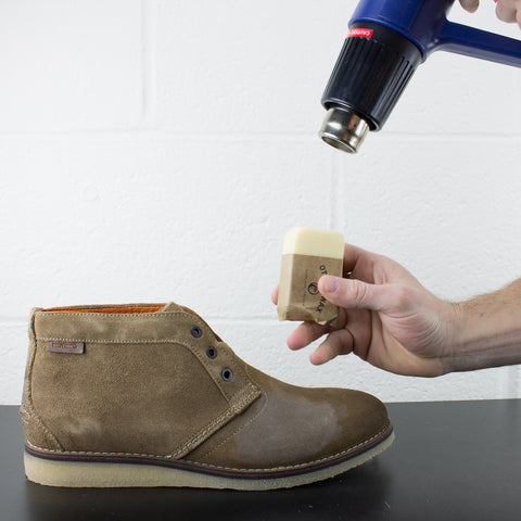 How To Wax Suede With Otter Wax