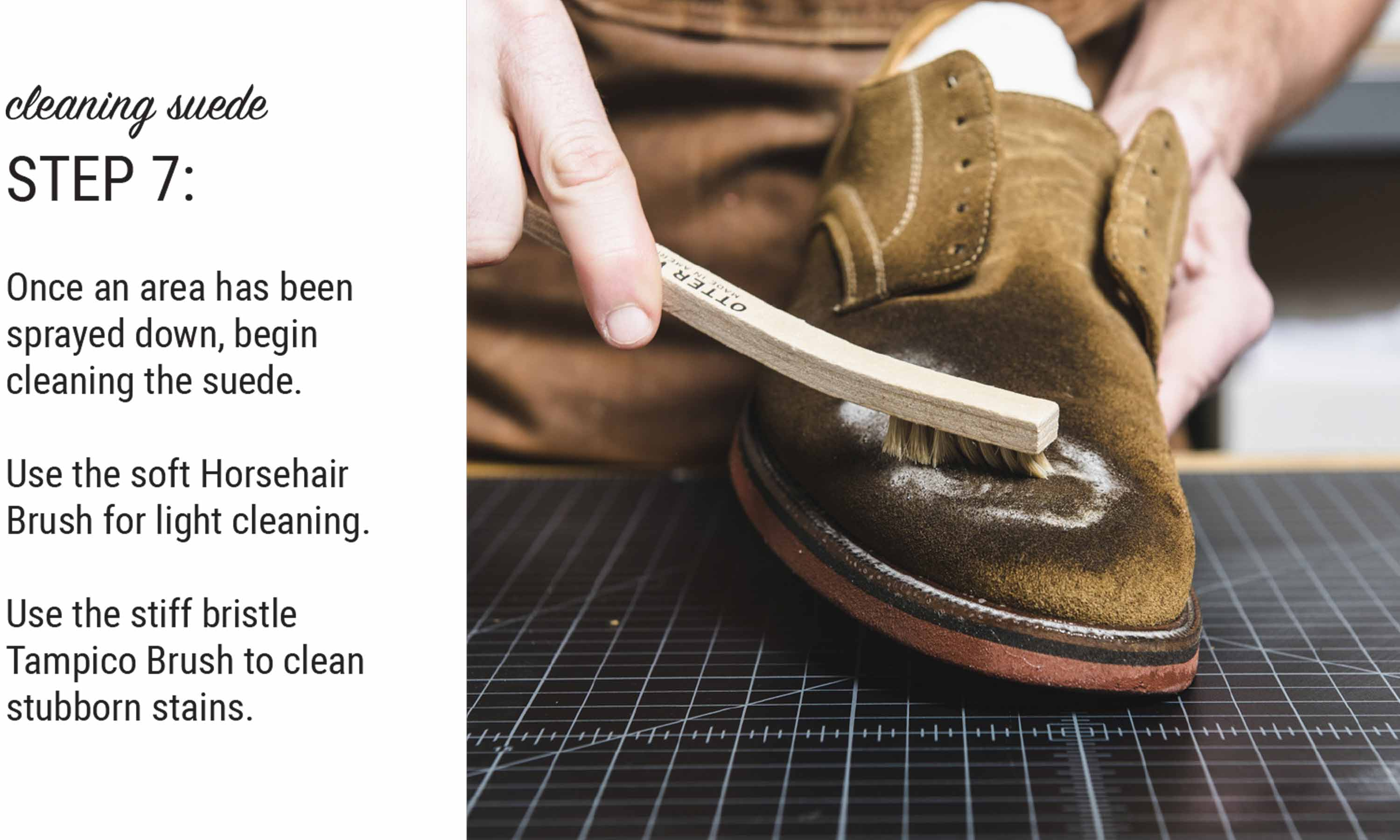 How To Clean Suede Shoes | Tutorial Guide – Otter Wax