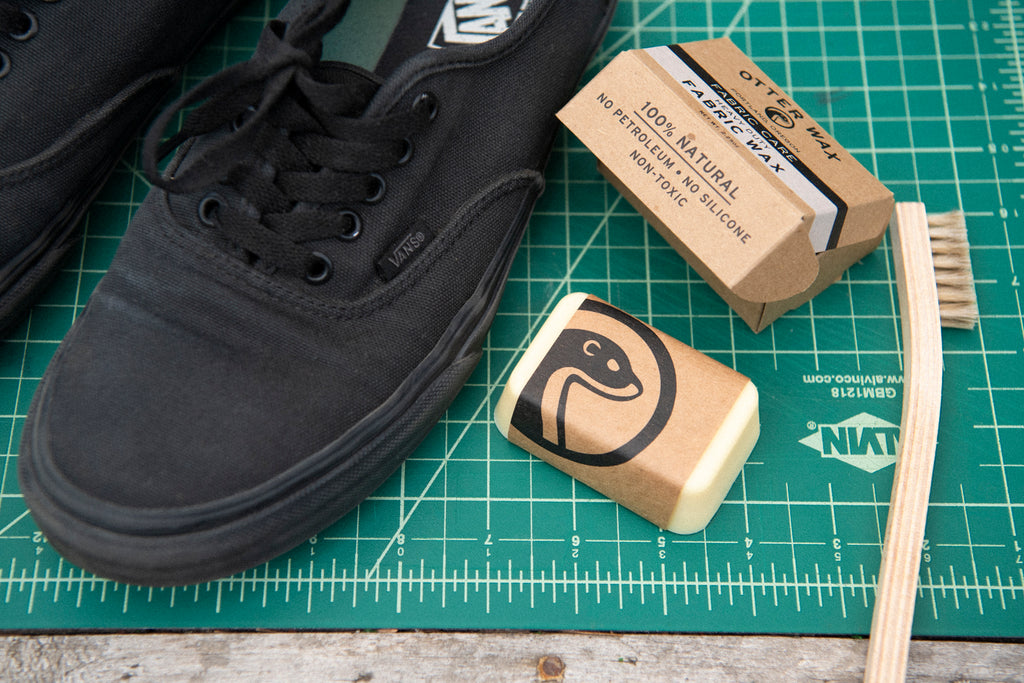 How To Waterproof Vans Sneakers With Otter Wax Fabric Wax