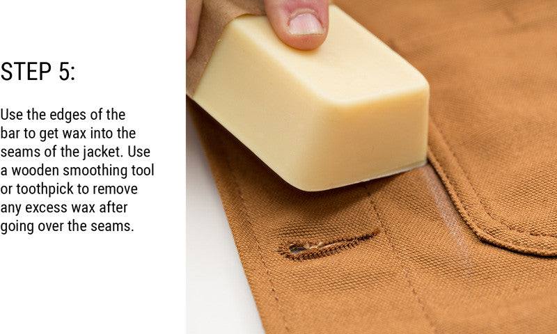 How To Otter Wax a Pointer Brand Chore Coat