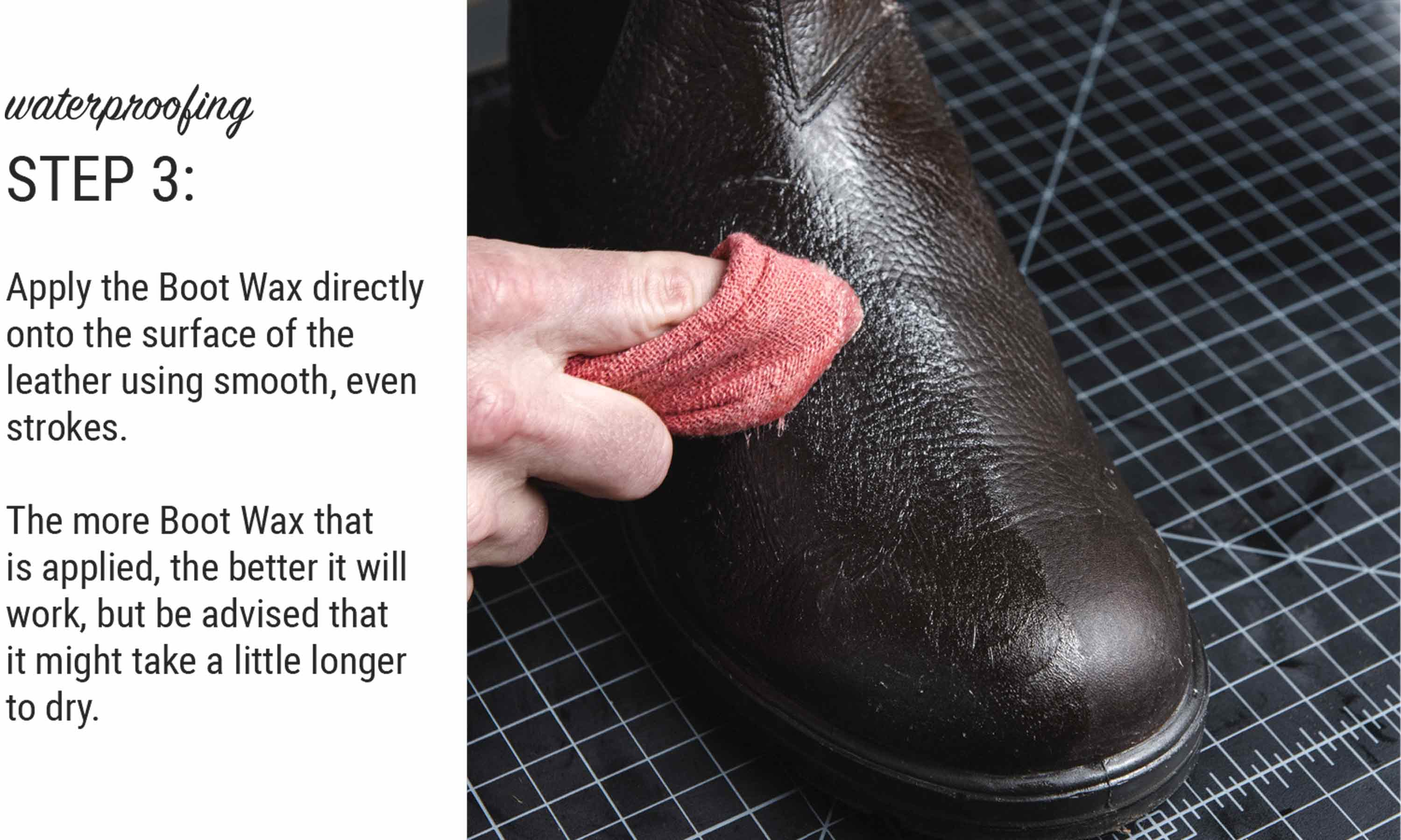 How To Waterproof Leather Boots Using Otter Wax Boot Wax