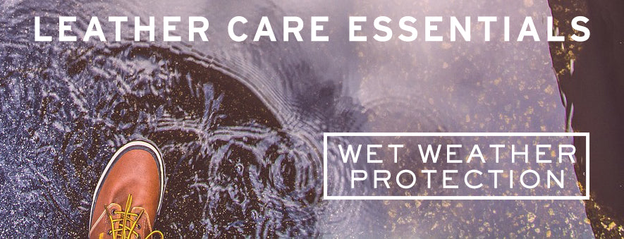 Wet Weather Leather Care