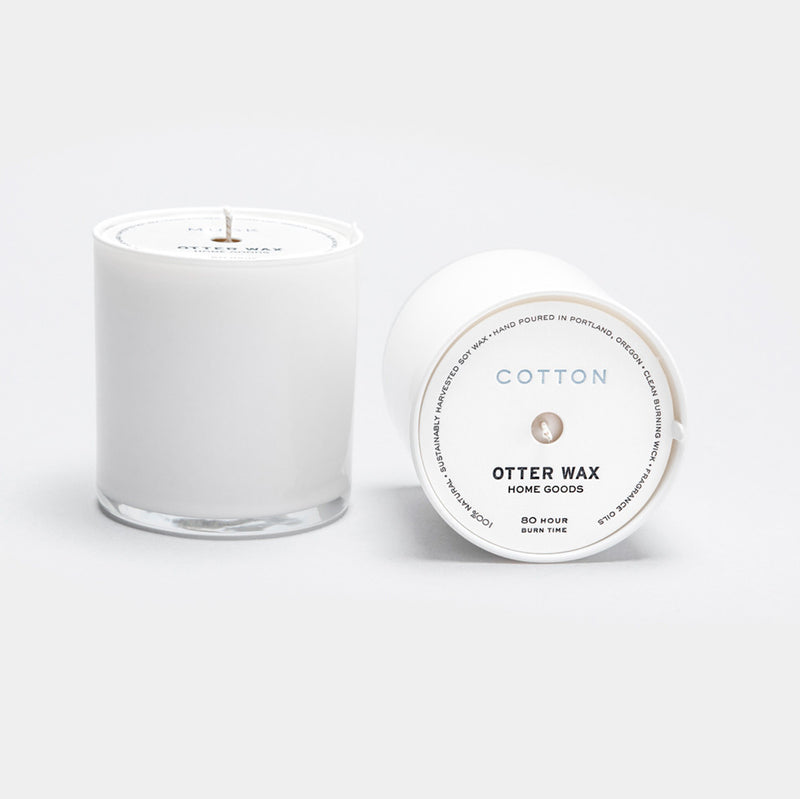 Otter Wax Cotton Soy Candle