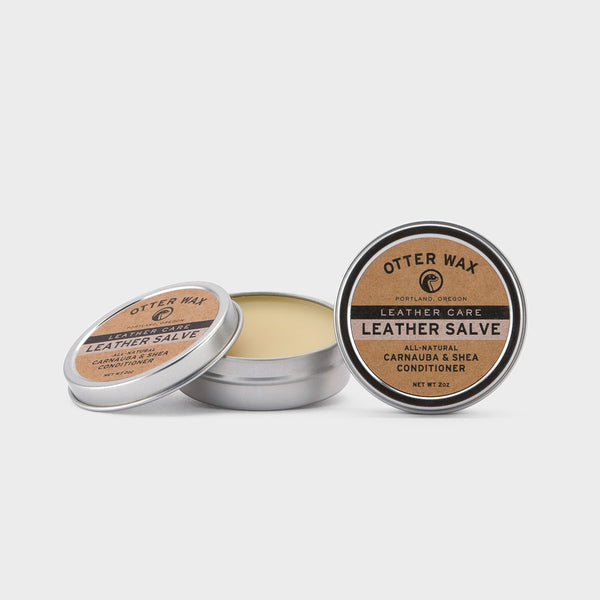 Otter Wax Carnauba & Shea Butter Leather Salve