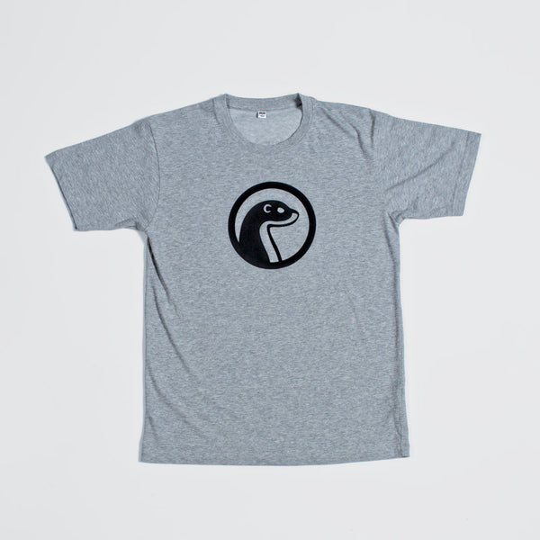 Otter Wax Heather Gray Logo T-Shirt