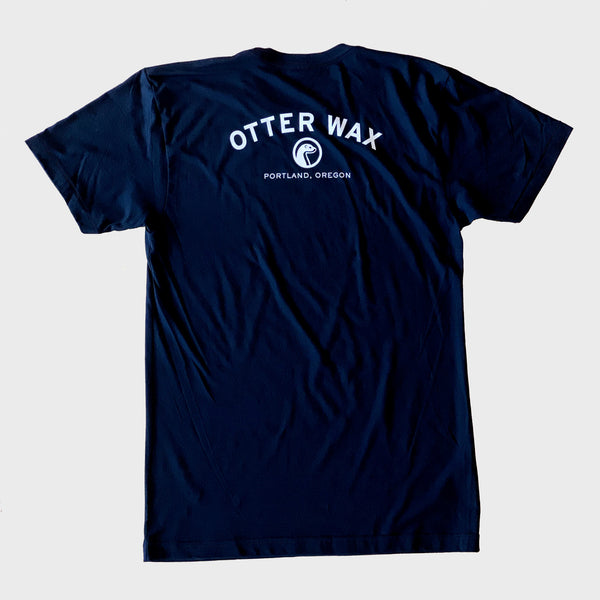 Otter Wax Logo Shirt - Black