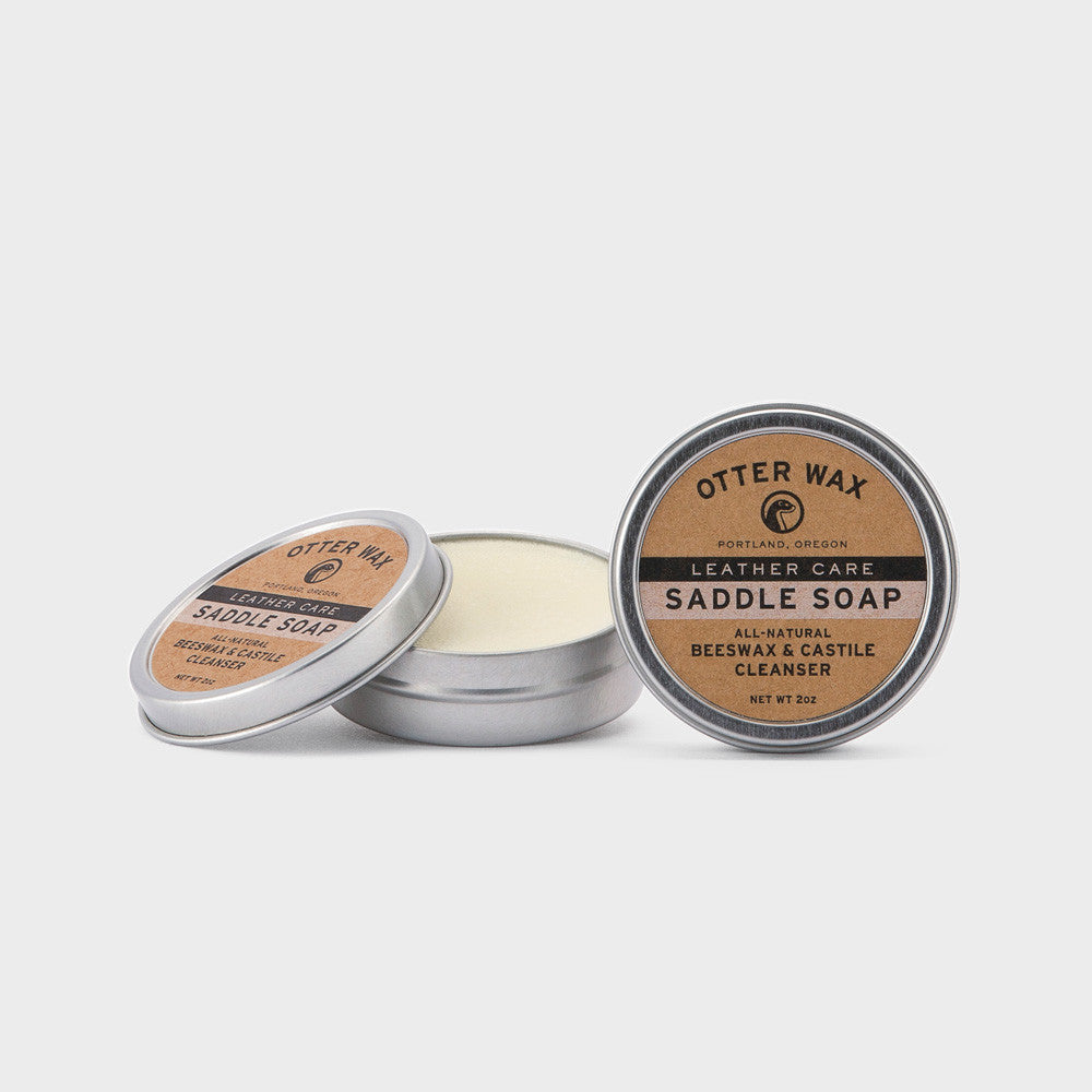 Otter Wax Beeswax & Castile Saddle Soap