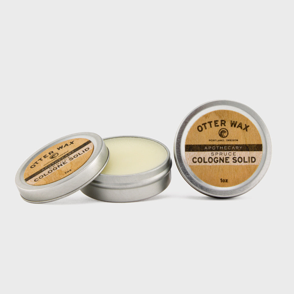 Otter Wax Spruce Cologne Solid
