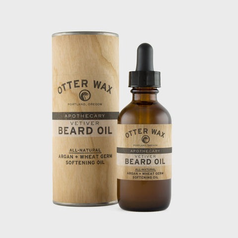 Otter Wax Vetiver Beard Oil