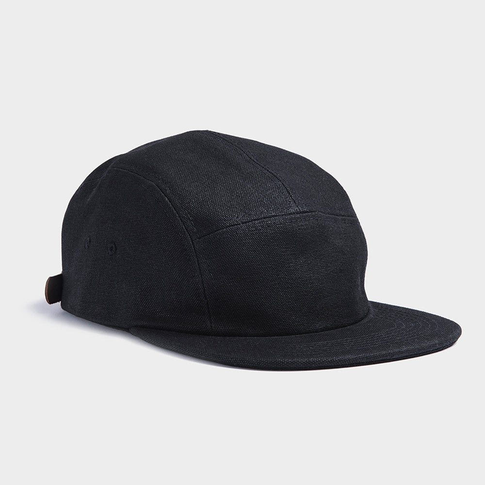 5-Panel Waxed Canvas Camp Hat