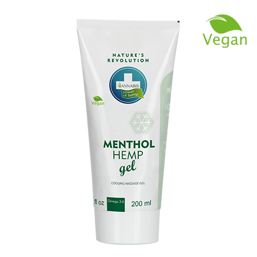 Menthol Hemp Gel 200ml-NEUROGOLD