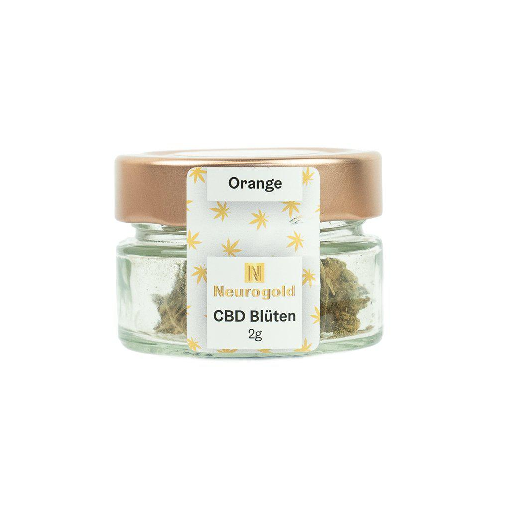NEUROGOLD CBD Blüten Orange-NEUROGOLD