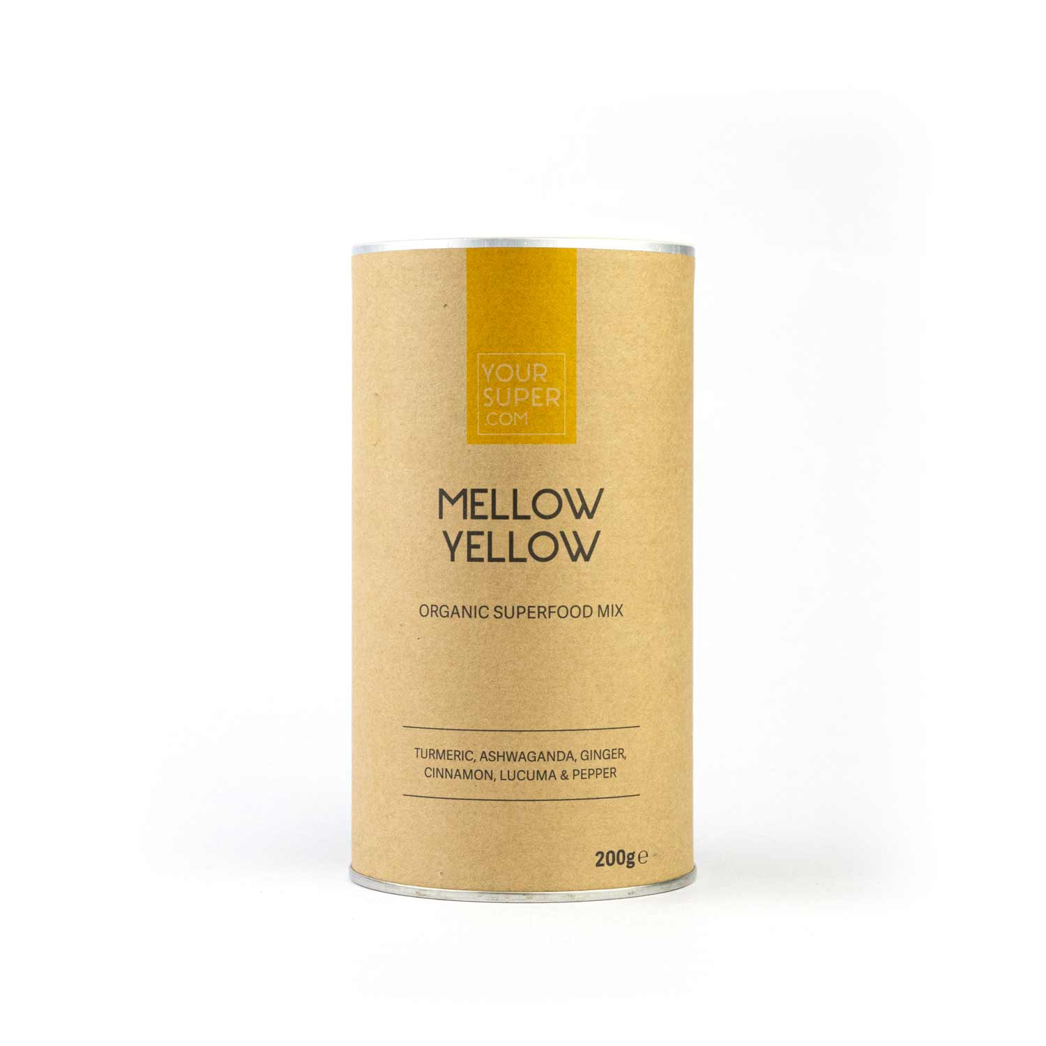 Your Superfoods Mellow Yellow Mix 200g - Limited Editon - NEUROGOLD
