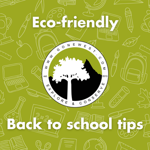 Eco-friendly back to school tips