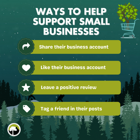 Ways to help support small businesses