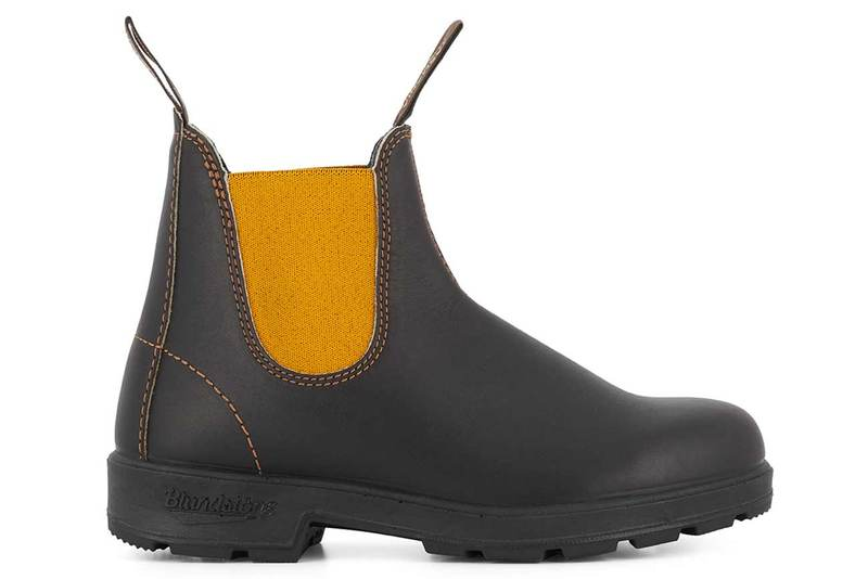 Blundstone #500 1919 Brown Mustard Leather Boot