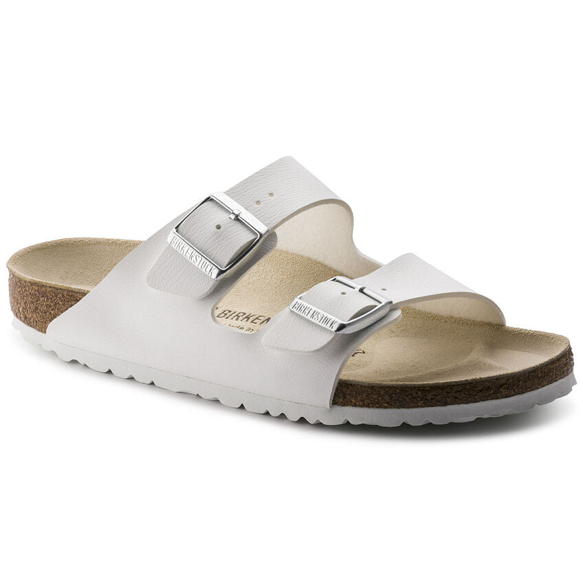 Birkenstock Arizona in White - Steranko Clothing Manchester UK