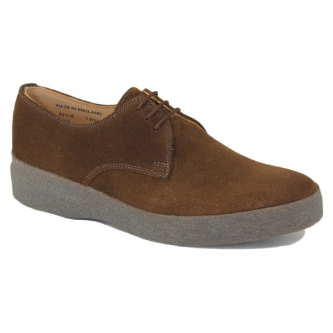 829cda44fcd2a Sanders Lo Top Shoe in Snuff Suede - Steranko Clothing Manchester UK
