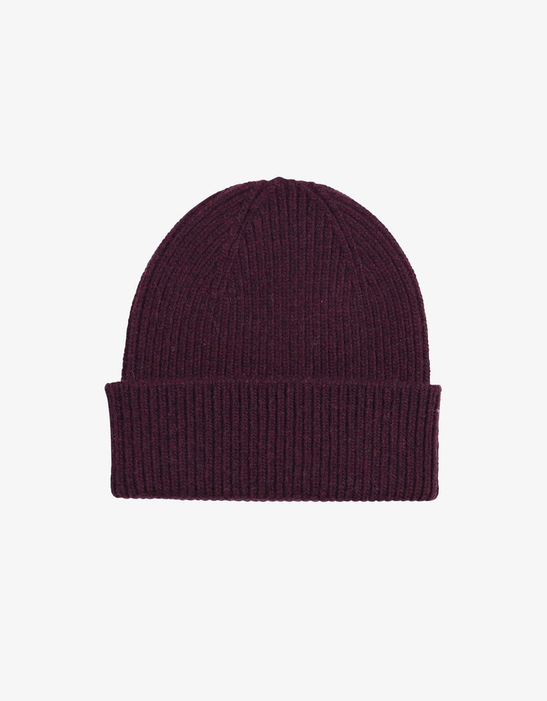 Colorful Standard Merino Wool Beanie Oxblood Red