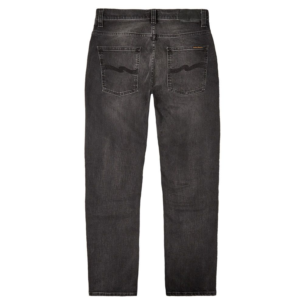 Nudie Jeans Co Grim Tim Concrete Black