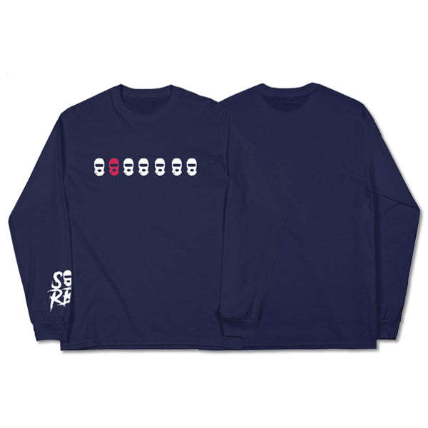 SOB X RBE STRICTLY ONLY BROTHERS LONGSLEEVE - NAVY