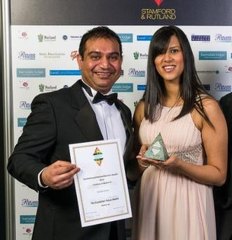 anand shoes of stamford business award