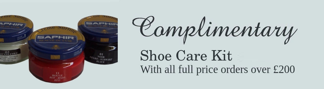 free shoe care kit