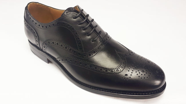 Berwick 2817 Brogue - Box Calf Negro