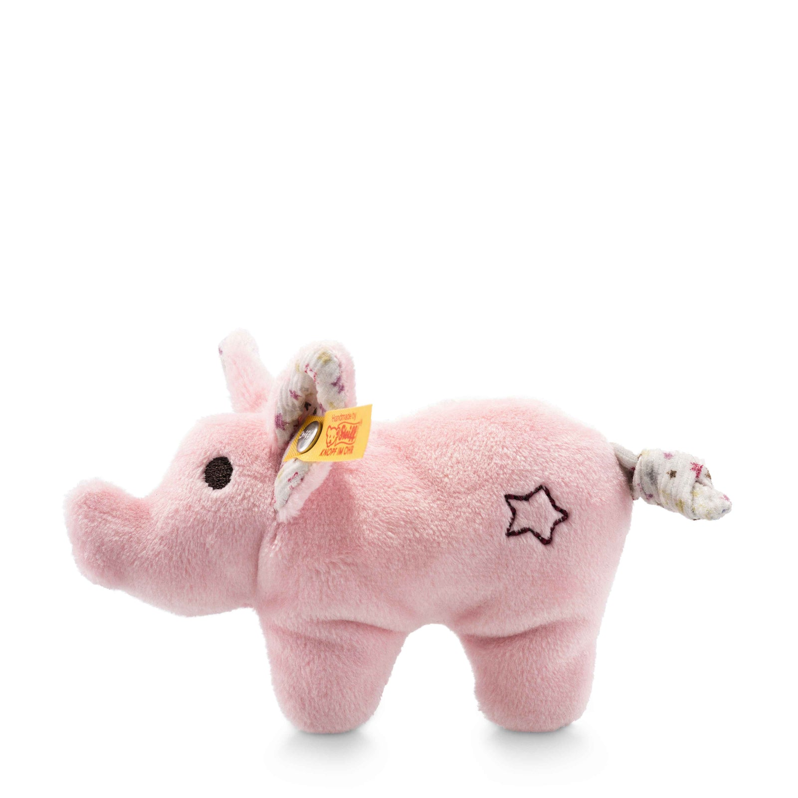 Steiff Mini Pig with Rustling Foil and Rattle - EAN 240652