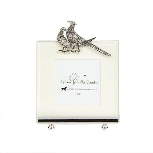 Two Pheasants Photo Frame
