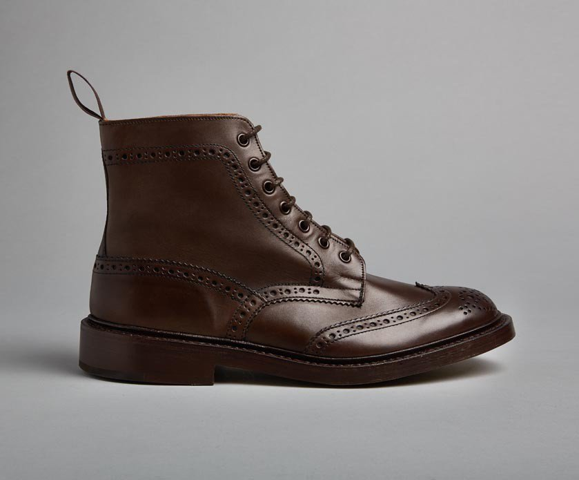 Tricker's Stow Country Boot in Espresso Burnished