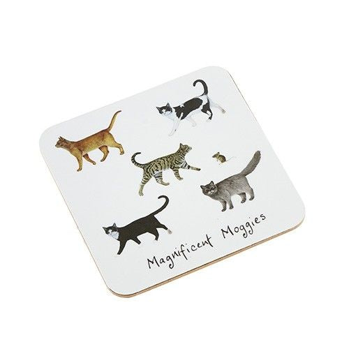 Magnificent Moggies Coaster