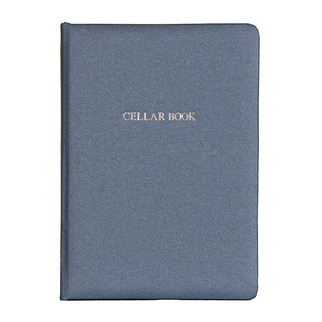 Metallic Buckram Wine Cellar Book