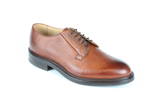 Cheaney Deal Derby in Mahogany Grain