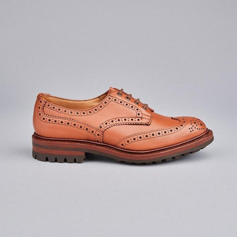 Cheaney Arthur III Black Calf Leather Oxford Brogue