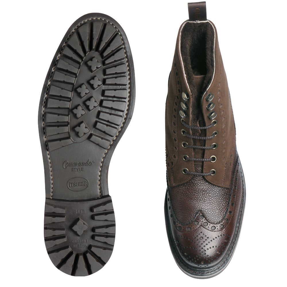 Cheaney Irvine Fur Lined Derby Country