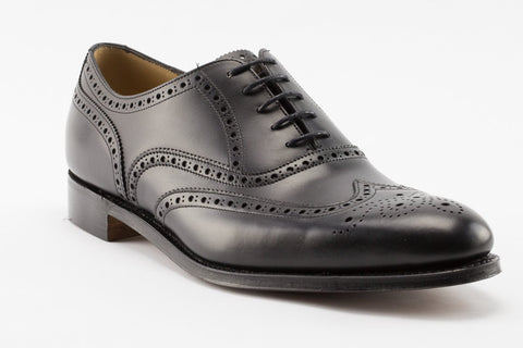 Cheaney Arthur III Dark Leaf Hand Burnished Brogues