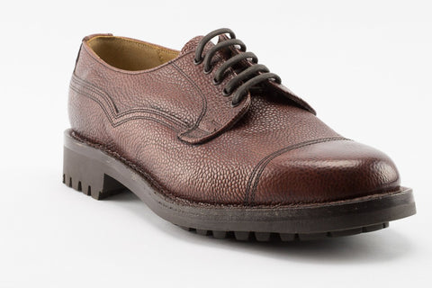 Steptronic Alfa Dark Brown Calf Leather