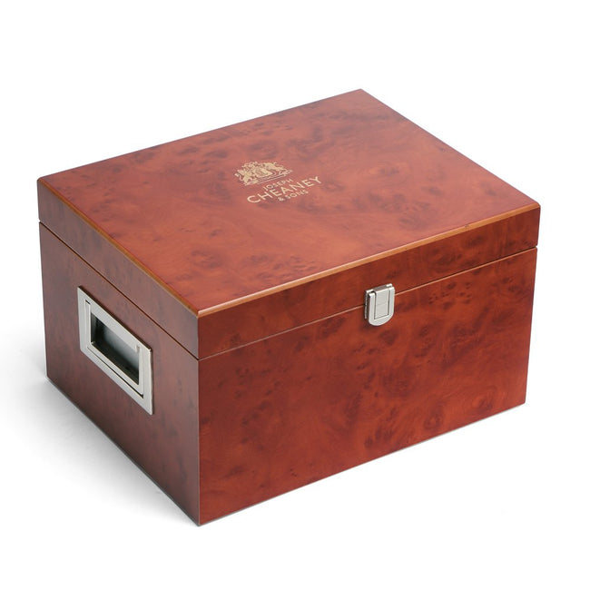 Cheaney Wooden Valet Shoe Care Box
